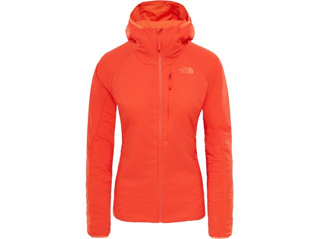The North Face Ventrix Hoodie Dame fire brick red/nasturtium orange
